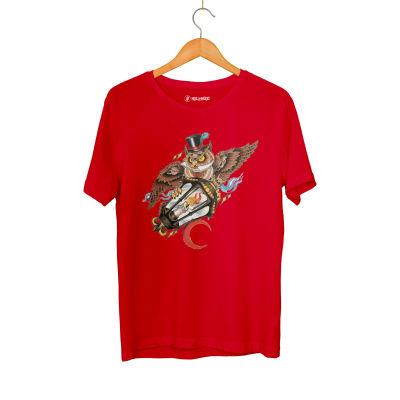 HollyHood - Jora Owl Kırmızı T-shirt