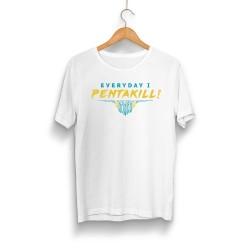 Pentakill - HH - Pentakill Beyaz T-shirt