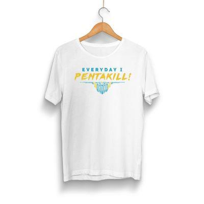 HH - Pentakill Beyaz T-shirt