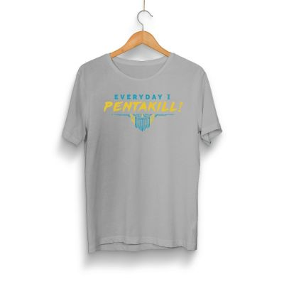 Pentakill - HH - Pentakill Gri T-shirt