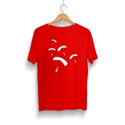 PUBG - HH - PUBG Paraşüt Kırmızı T-shirt