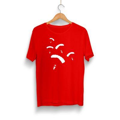 HH - PUBG Paraşüt Kırmızı T-shirt