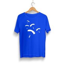 PUBG - HH - PUBG Paraşüt Mavi T-shirt