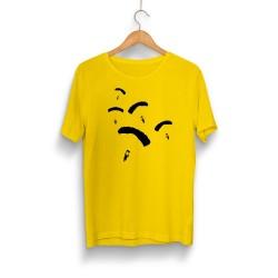 PUBG - HH - PUBG Paraşüt Sarı T-shirt