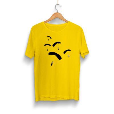 HH - PUBG Paraşüt Sarı T-shirt