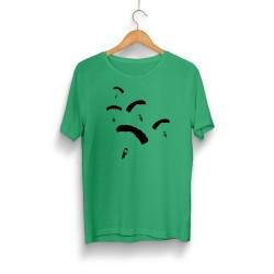 PUBG - HH - PUBG Paraşüt Yeşil T-shirt