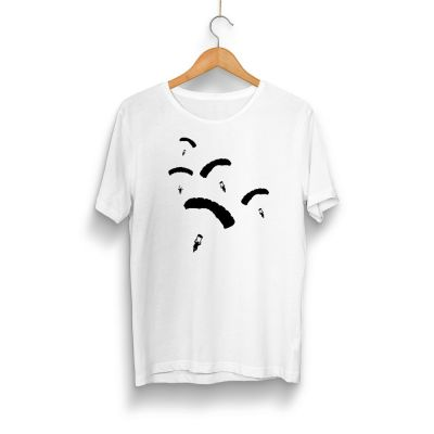 PUBG - HH - PUBG Paraşüt Beyaz T-shirt