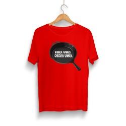 PUBG - HH - PUBG Tava Kırmızı T-shirt
