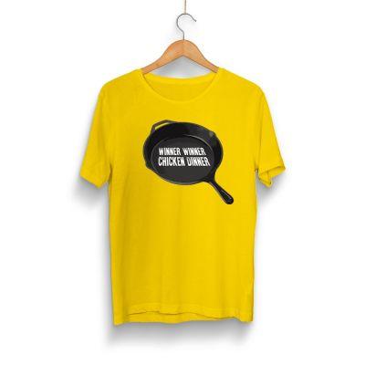 PUBG - HH - PUBG Tava Sarı T-shirt