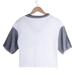 1952 Kadın Beyaz T-shirt - Thumbnail