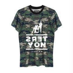 Contra - HollyHood - Contra Ters Yön Kamuflaj T-shirt