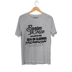 Şanışer - HollyHood - Şanışer Yazamazsın Gri T-shirt