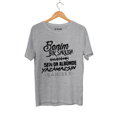 HH - Şanışer Yazamazsın Gri T-shirt