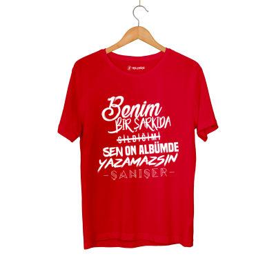 HH - Şanışer Yazamazsın Kırmızı T-shirt