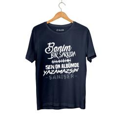 Şanışer - HollyHood - Şanışer Yazamazsın Lacivert T-shirt