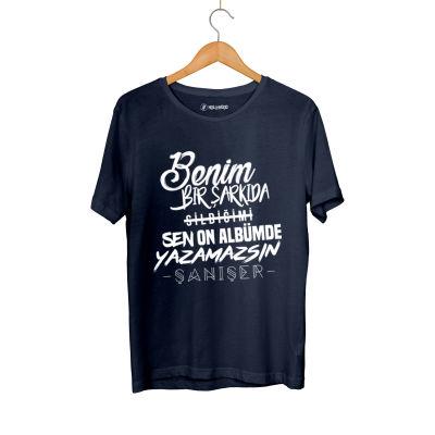 HH - Şanışer Yazamazsın Lacivert T-shirt