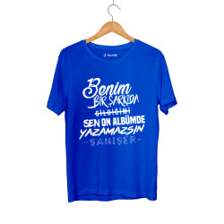 Şanışer - HollyHood - Şanışer Yazamazsın Mavi T-shirt
