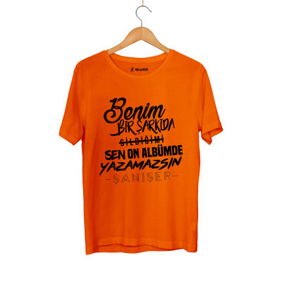 HH - Şanışer Yazamazsın Turuncu T-shirt
