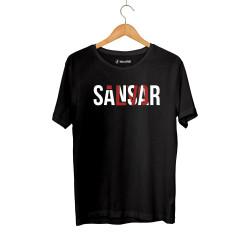 Sansar Salvo - HH - Sansar Salvo New Siyah T-shirt