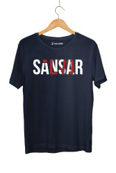 Sansar Salvo - HollyHood - Sansar Salvo New Lacivert (BK) T-shirt
