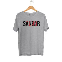 Sansar Salvo - HollyHood - Sansar Salvo New Gri T-shirt