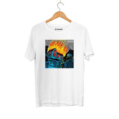 HH - Şehinşah Yak Beyaz T-shirt
