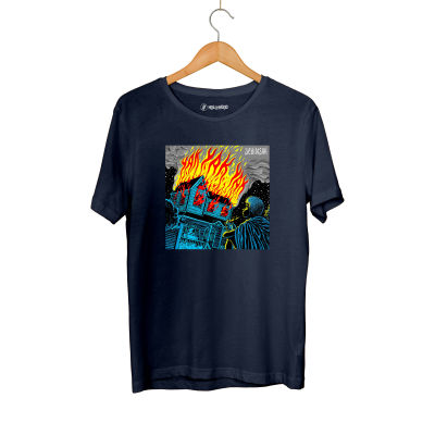 Şehinşah - HH - Şehinşah Yak Lacivert T-shirt (Fırsat Ürünü)