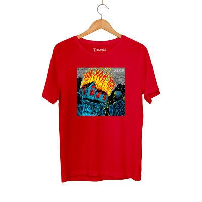 HH - Şehinşah Yak Kırmızı T-shirt