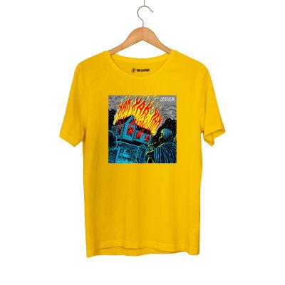 HH - Şehinşah Yak Sarı T-shirt