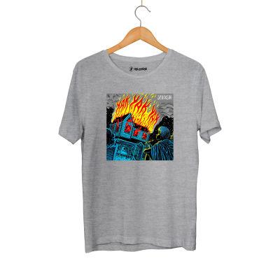 HH - Şehinşah Yak Gri T-shirt