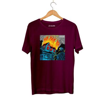 Şehinşah - HH - Şehinşah Yak Bordo T-shirt (Fırsat Ürünü)