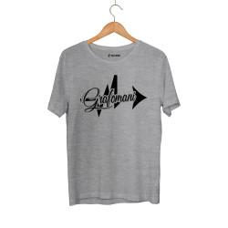 Sokrat St - HH - Sokrat Grafomani Gri T-shirt