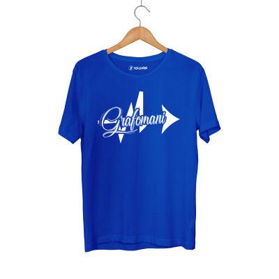 HH - Sokrat Grafomani Mavi T-shirt