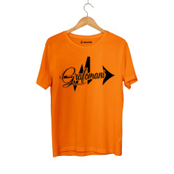 Sokrat St - HH - Sokrat Grafomani Turuncu T-shirt