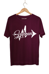Sokrat St - HollyHood - Sokrat Grafomani Bordo T-shirt