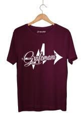 Sokrat St - HH - Sokrat Grafomani Bordo T-shirt