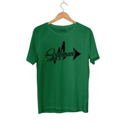 Sokrat St - HH - Sokrat Grafomani Yeşil T-shirt