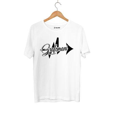 Sokrat St - HH - Sokrat Grafomani Beyaz T-shirt
