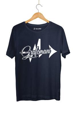 HH - Sokrat Grafomani Lacivert T-shirt