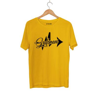 HH - Sokrat Grafomani Sarı T-shirt