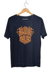 Tankurt Manas - HH - Tankurt Manas Tipografi Lacivert T-shirt