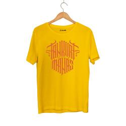 Tankurt Manas - HH - Tankurt Manas Tipografi Sarı T-shirt