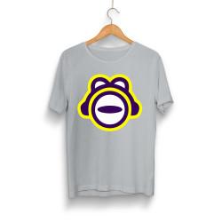 Thetabetaplays - HH - ThetaBeta Logo Gri T-shirt