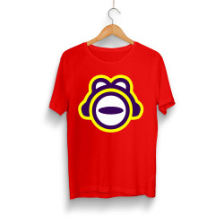 HollyHood - HollyHood - ThetaBeta Logo Kırmızı T-shirt