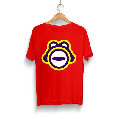 HH - ThetaBeta Logo Kırmızı T-shirt