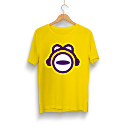 Gamer - HollyHood - ThetaBeta Logo Sarı T-shirt