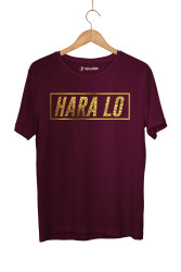 Velet - HH - Velet Hara Lo Gold Edition Bordo T-shirt