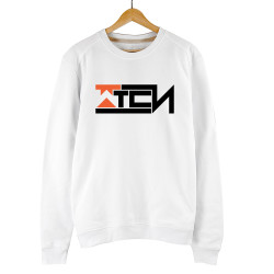 Gamer - HollyHood - Wtcnn Logo Beyaz Sweatshirt