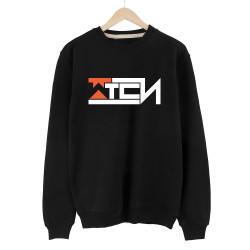 Gamer - HollyHood - Wtcnn Logo Siyah Sweatshirt