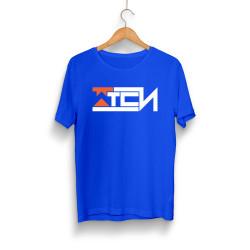 Wtcnn - HH - Wtcnn Logo Mavi T-Shirt